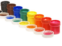 χρώμα γκουας Στοκ φωτογραφία με δικαίωμα ελεύθερης χρήσης