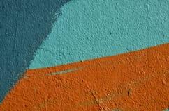 Χρώμα γκράφιτι τοίχων Στοκ εικόνα με δικαίωμα ελεύθερης χρήσης