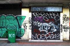 Χρώμα γκράφιτι Στοκ Φωτογραφίες