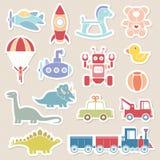 Χρώμα εικονιδίων παιχνιδιών Στοκ Εικόνα