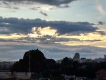 Χρώμα ηλιοβασιλέματος Στοκ Φωτογραφίες