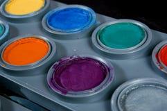 Χρώμα θεάτρων για τους ανθρώπους στοκ εικόνα
