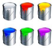 χρώμα κάδων ελεύθερη απεικόνιση δικαιώματος