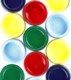 χρώμα κάδων Στοκ φωτογραφία με δικαίωμα ελεύθερης χρήσης