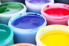 χρώμα κάδων Στοκ εικόνα με δικαίωμα ελεύθερης χρήσης