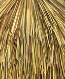 χρώμα καλάμων μπαμπού πολυ Στοκ Εικόνες