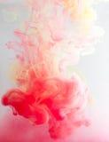 Χρώμα καπνού κάτω από το νερό Στοκ Εικόνες