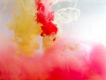 Χρώμα καπνού κάτω από το νερό Στοκ Εικόνα