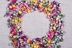 Χρώμα καραμέλας καραμελών υποβάθρου, πλαίσιο Στοκ φωτογραφία με δικαίωμα ελεύθερης χρήσης