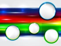 χρώμα καρτών Στοκ Εικόνα