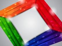 χρώμα καρτών Στοκ Φωτογραφία
