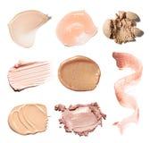 Χρώμα κηλίδων των καλλυντικών προϊόντων στοκ φωτογραφία με δικαίωμα ελεύθερης χρήσης