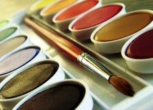 χρώμα κιβωτίων Στοκ εικόνες με δικαίωμα ελεύθερης χρήσης