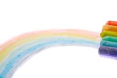 χρώμα κιμωλίας Στοκ Φωτογραφίες