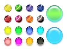 χρώμα κουμπιών Στοκ Φωτογραφίες