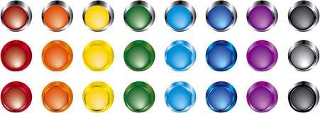 χρώμα κουμπιών Στοκ εικόνα με δικαίωμα ελεύθερης χρήσης