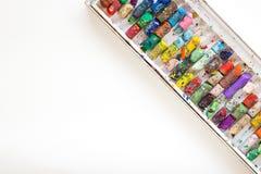 Χρώμα κραγιονιών στη Λευκή Βίβλο Στοκ Εικόνα