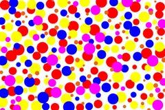 Χρώμα κύκλων ζωηρόχρωμου Στοκ εικόνες με δικαίωμα ελεύθερης χρήσης