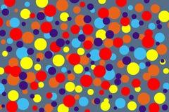 Χρώμα κύκλων ζωηρόχρωμου Στοκ φωτογραφίες με δικαίωμα ελεύθερης χρήσης