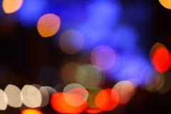 Χρώμα κύκλων bokeh Στοκ εικόνα με δικαίωμα ελεύθερης χρήσης