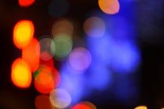 Χρώμα κύκλων bokeh Στοκ φωτογραφίες με δικαίωμα ελεύθερης χρήσης