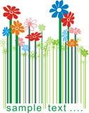 χρώμα κώδικα ράβδων floral Στοκ φωτογραφίες με δικαίωμα ελεύθερης χρήσης