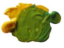 χρώμα λεκέδων Στοκ εικόνες με δικαίωμα ελεύθερης χρήσης