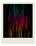 χρώμα μέσα στο polaroid φωτογραφ&iota Στοκ φωτογραφίες με δικαίωμα ελεύθερης χρήσης