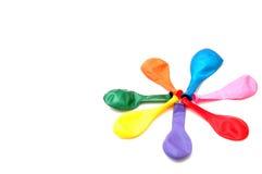 χρώμα μπαλονιών Στοκ Φωτογραφία