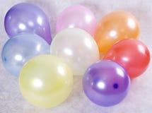 χρώμα μπαλονιών Στοκ Εικόνα