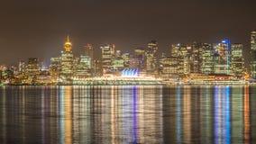Χρώμα νύχτας πόλεων στοκ εικόνες