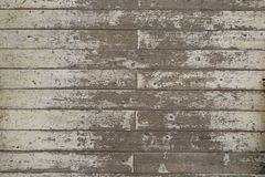 Χρώμα-ξεφλουδισμένο άσπρο ξύλινο υπόβαθρο σανίδων πατωμάτων Στοκ εικόνα με δικαίωμα ελεύθερης χρήσης