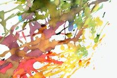 χρώμα πάλης Στοκ Φωτογραφία