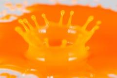 χρώμα παφλασμών Στοκ φωτογραφία με δικαίωμα ελεύθερης χρήσης