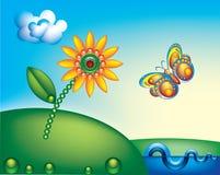 χρώμα πεταλούδων Στοκ εικόνα με δικαίωμα ελεύθερης χρήσης