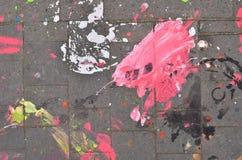χρώμα που ανατρέπεται Στοκ φωτογραφία με δικαίωμα ελεύθερης χρήσης