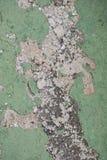 Χρώμα που ξεφλουδίζει από έναν τοίχο Στοκ Εικόνες