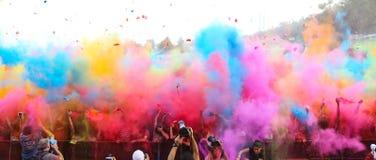 Χρώμα που οργανώνεται επάνω Στοκ εικόνες με δικαίωμα ελεύθερης χρήσης