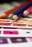 χρώμα ράβδων cmyk που τυπώνεται Στοκ Εικόνα