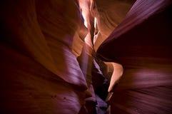 χρώμα σπηλιών Στοκ Φωτογραφία