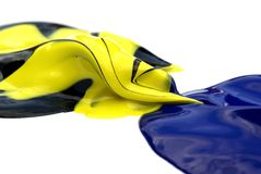 χρώμα σταγόνων Στοκ φωτογραφία με δικαίωμα ελεύθερης χρήσης