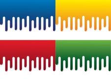 χρώμα σταλαγματιάς Στοκ εικόνες με δικαίωμα ελεύθερης χρήσης