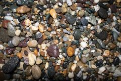 Χρώμα συλλογής πετρών στοκ φωτογραφία