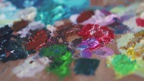 Χρώμα σύστασης στην παλέτα φιλμ μικρού μήκους