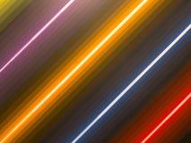 Χρώμα τέχνης χρωμάτων ευθειών γραμμών Στοκ φωτογραφία με δικαίωμα ελεύθερης χρήσης