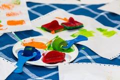 Χρώμα τέχνης Στοκ φωτογραφία με δικαίωμα ελεύθερης χρήσης