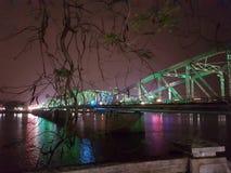 Χρώμα τή νύχτα - Βιετνάμ Στοκ φωτογραφία με δικαίωμα ελεύθερης χρήσης