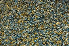 Χρώμα της πέτρας στο έδαφος Στοκ Εικόνες