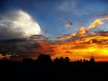 Χρώμα του ουρανού Στοκ Εικόνες