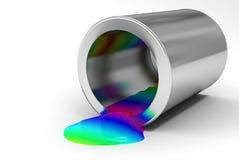 χρώμα τραπεζών Στοκ φωτογραφίες με δικαίωμα ελεύθερης χρήσης